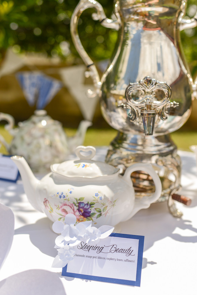 A tea party with French Accents!