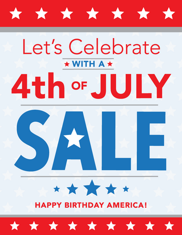Fourth of July Ad