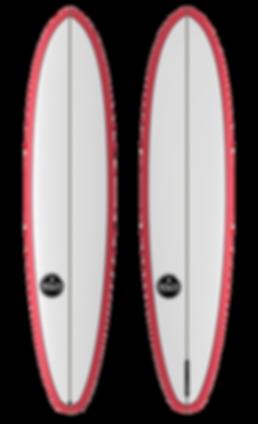 Howzi Surfboards CruzMissile Longboards