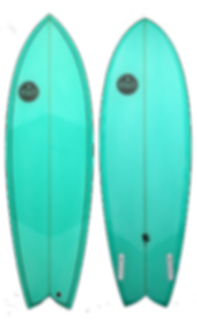 Toona Fish Retro Twin Fin