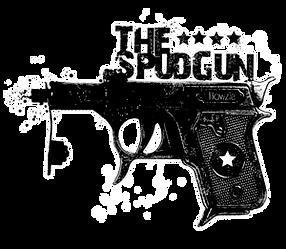 SpudGun Surfboard Logo