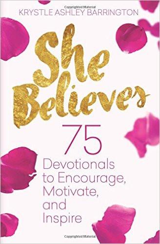 She Believes by Krystle Barrington