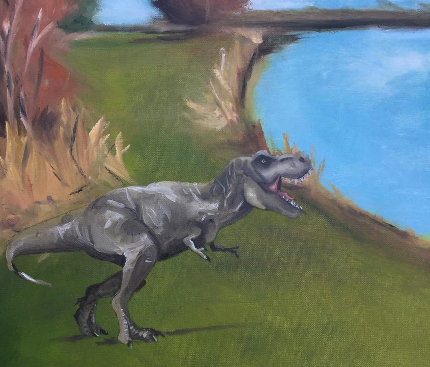Dinosaur for aj