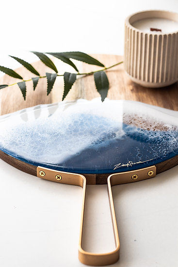 Cheese Board gold handle I