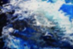 Fjords - 36x24 acrylic,resin on canvas $