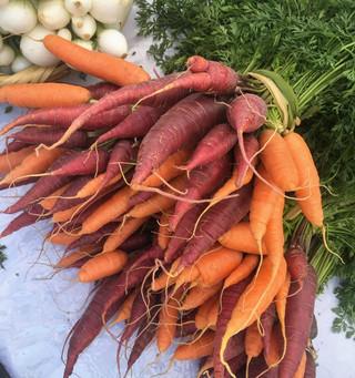 La ruta de la zanahoria hasta el pastel