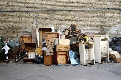 Big pile of rubbish