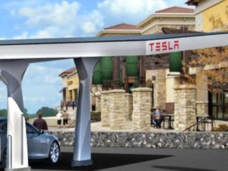 Netwerk van snelladers in Europa voor Tesla