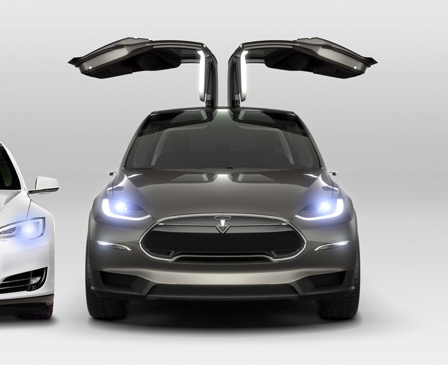 De Tesla Model X hier te bestellen