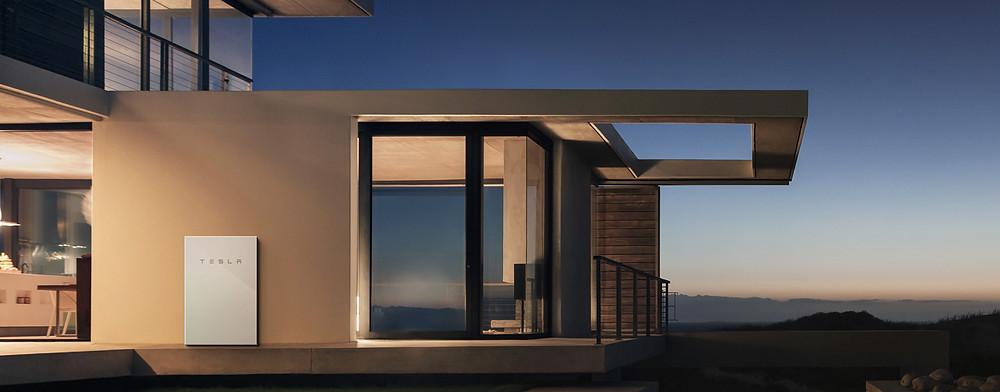 Tesla powerwall by Lemonfield Projects