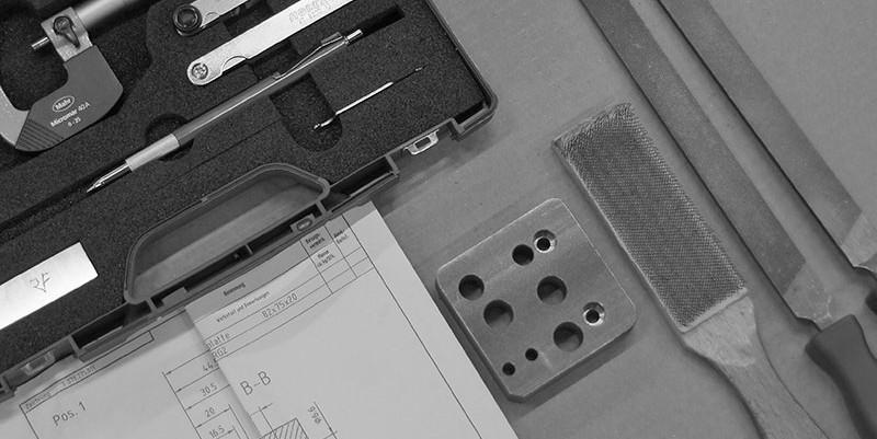 Lehrlingsausbildung PMP Werkzeug