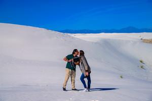 White sand desierto