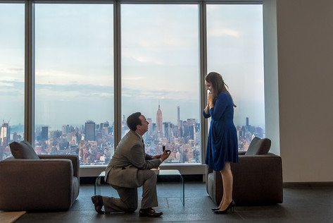 New York surprise engagement