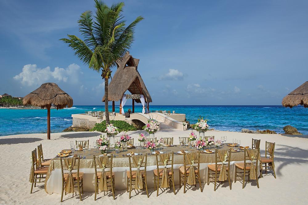 Dreams Resort in Puerto Aventuras, Mexico