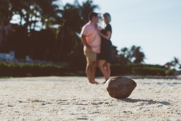 Engagement session in Playa del Carmen b
