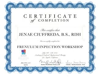 Jenae-Ciuffreda---2017-AOMT-Certificate.