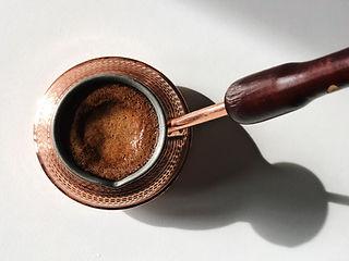 Готовим кофе в турке (джезве)