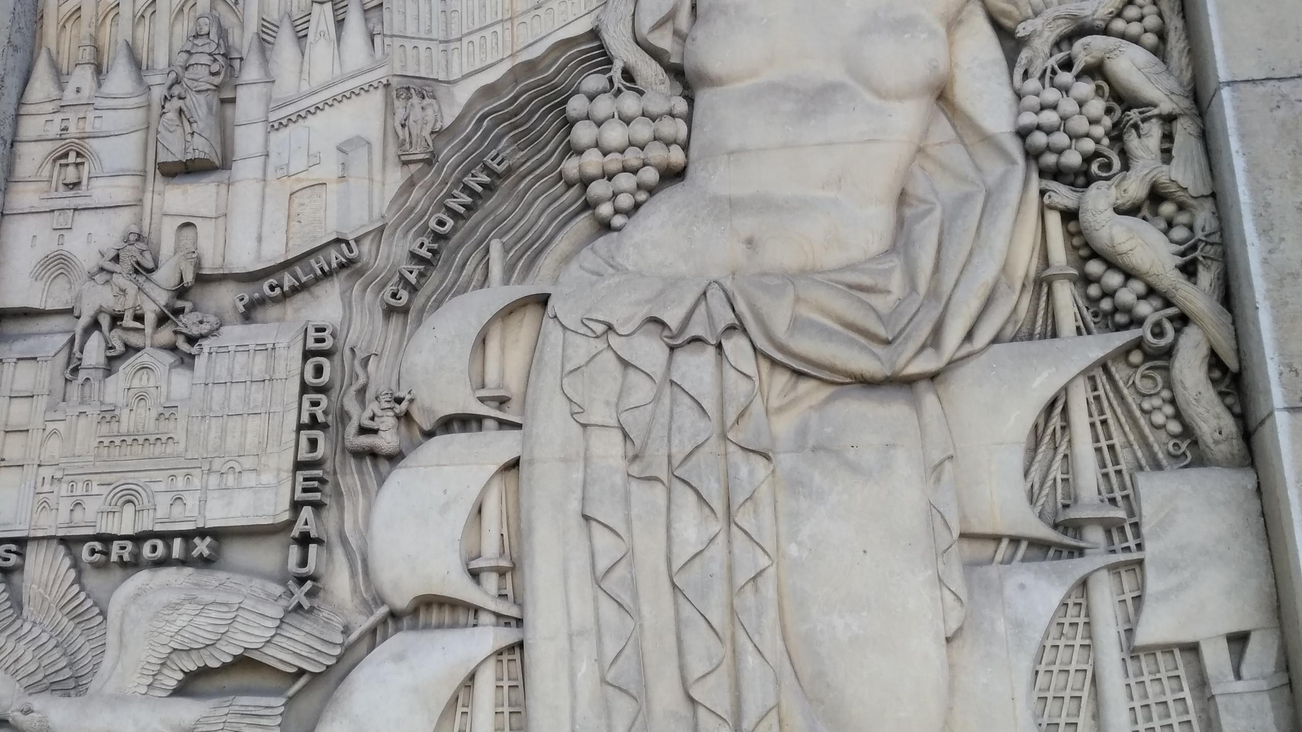 Bas Reief - Detail