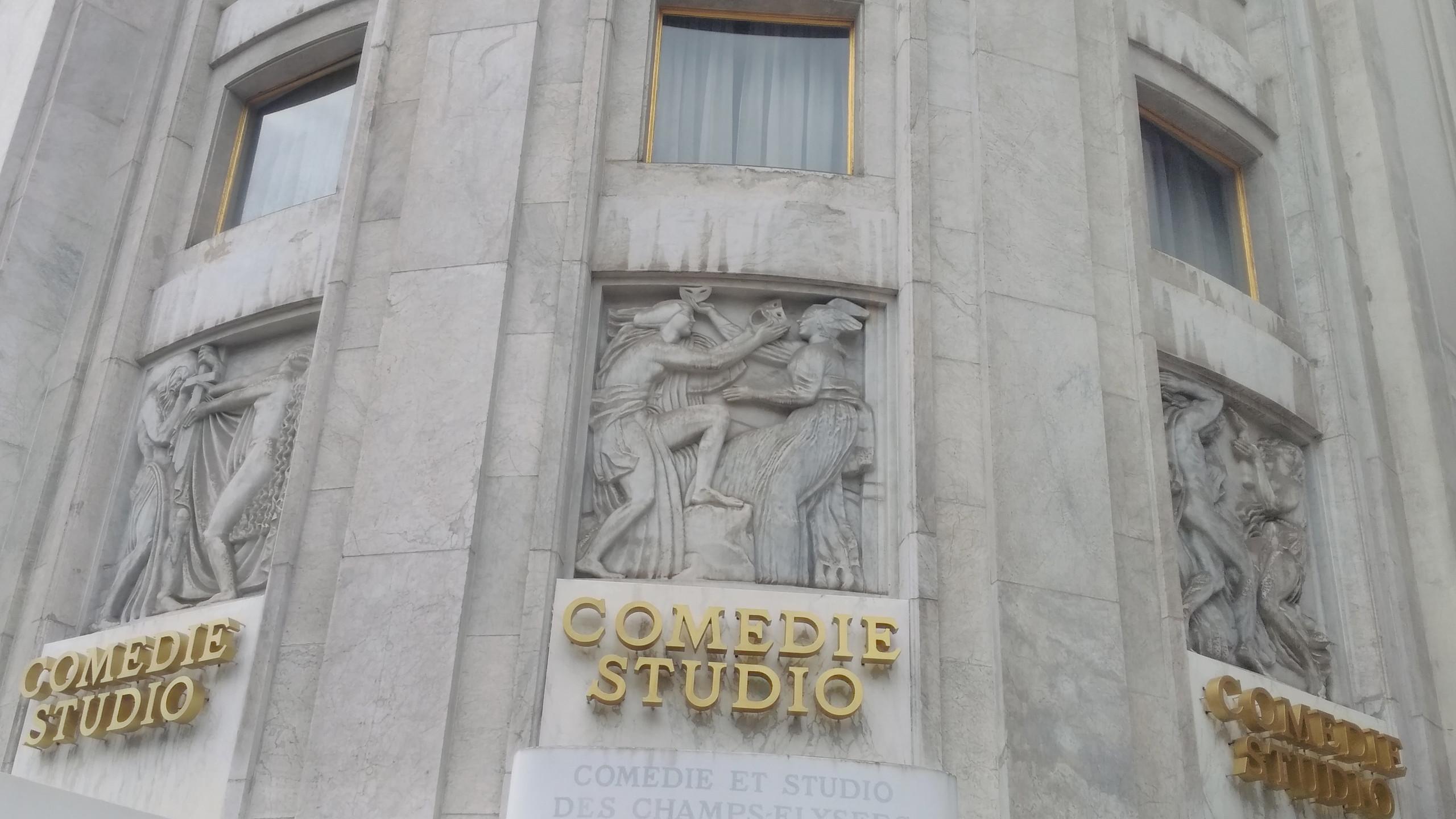 Frieze Théâtre des Champs Elysées