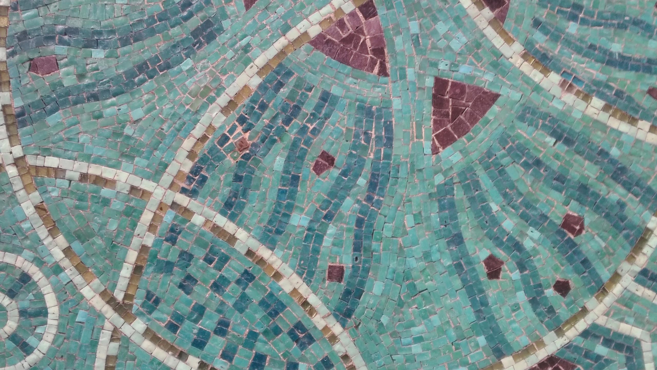 Restaurant Prunier - Mosaic Detail