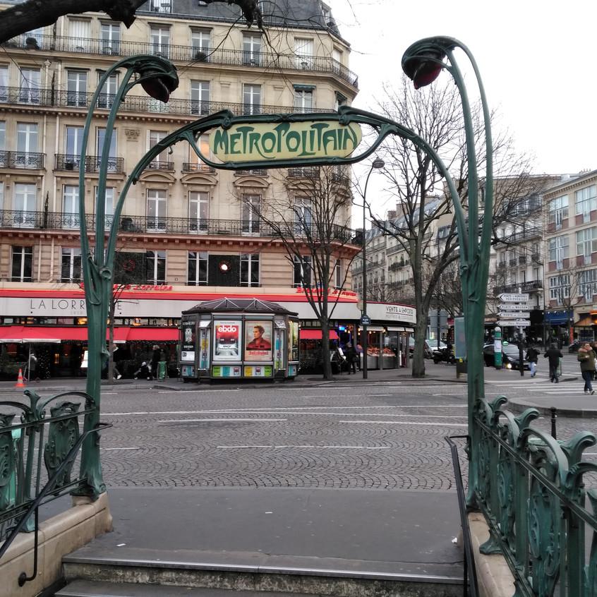 The Guimard Métro Entrances
