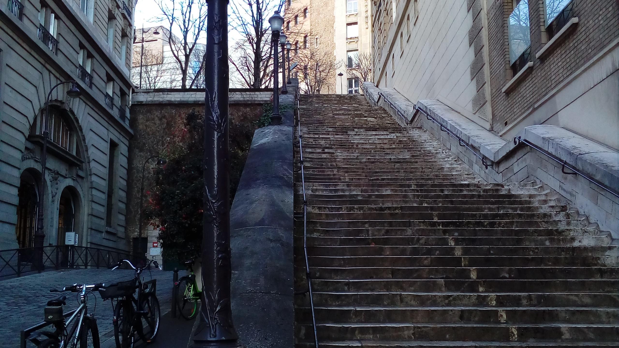 Stairs - Paris 16