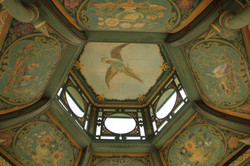 Ceiling Detail - Peacock Pagoda