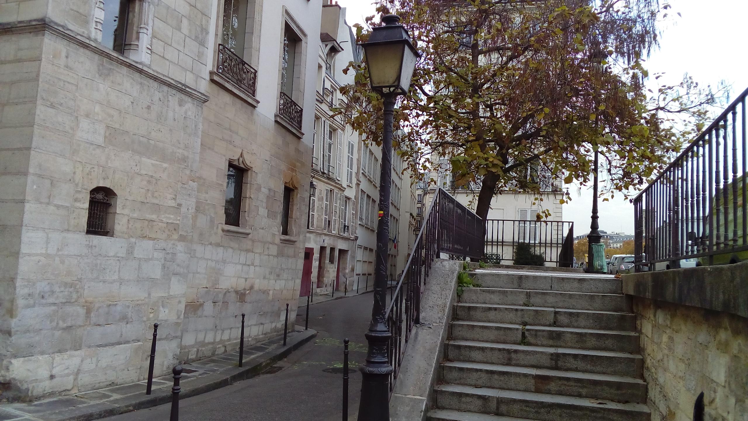 Stairs Latin Quarter