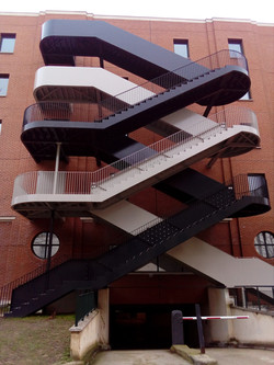 Graphic Staircase