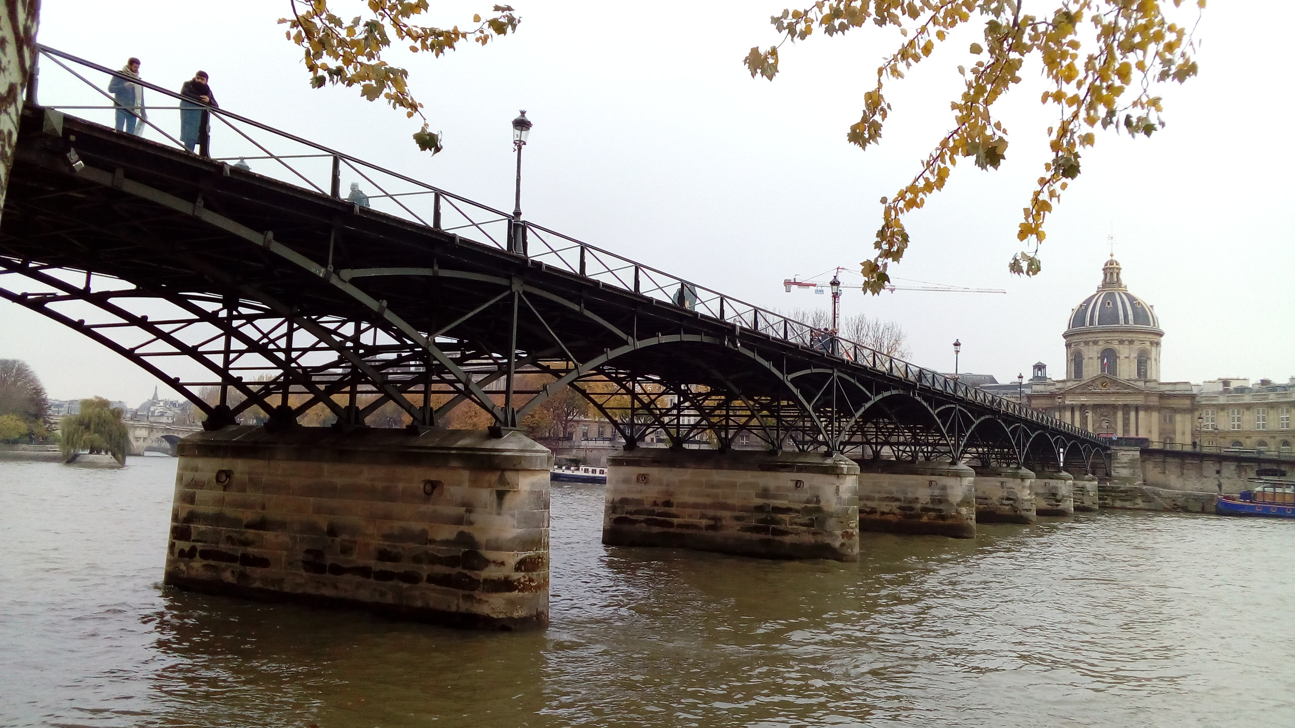 Pont des Arts - View from Right Bank