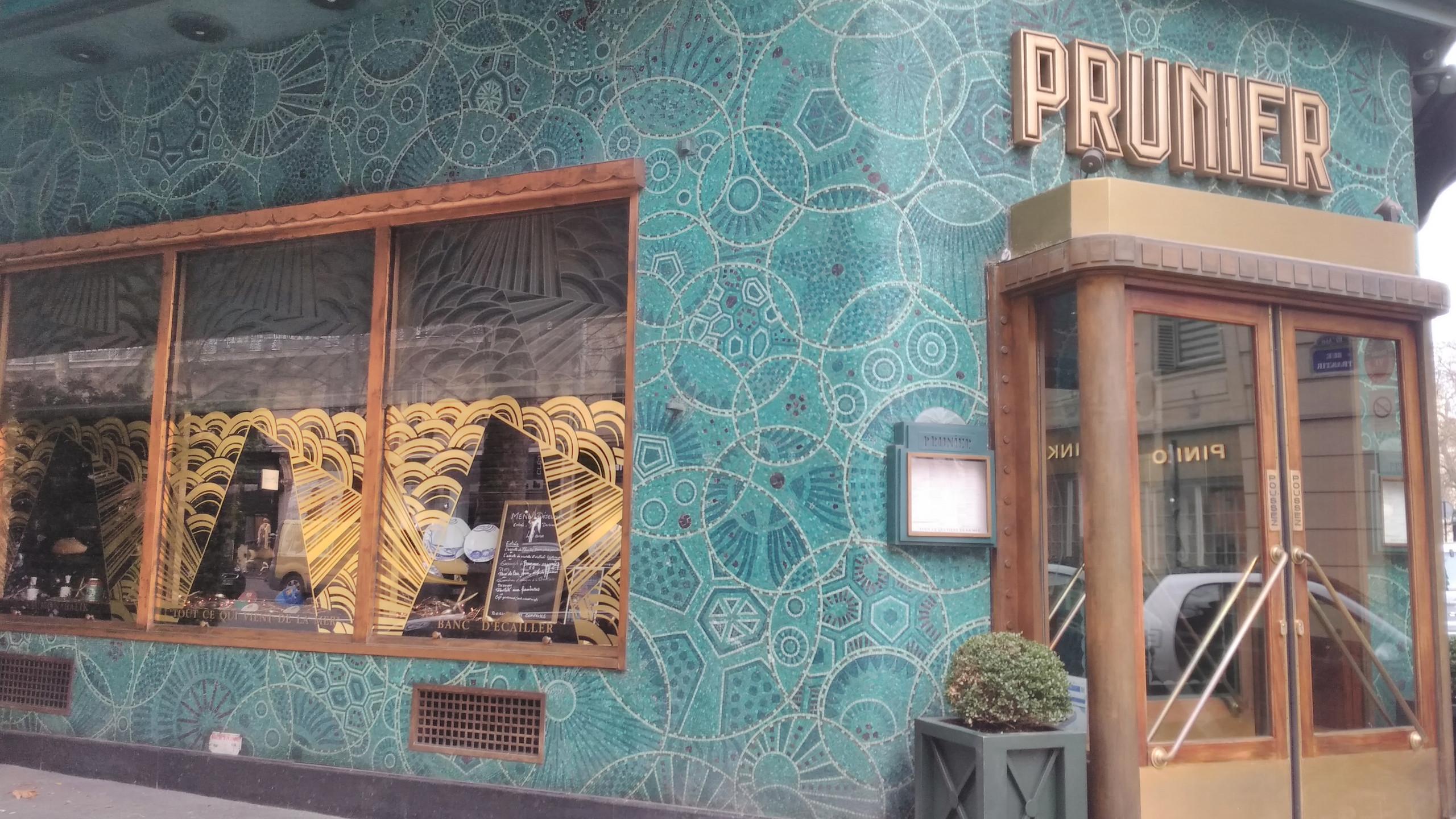 Restaurant Prunier - 1925