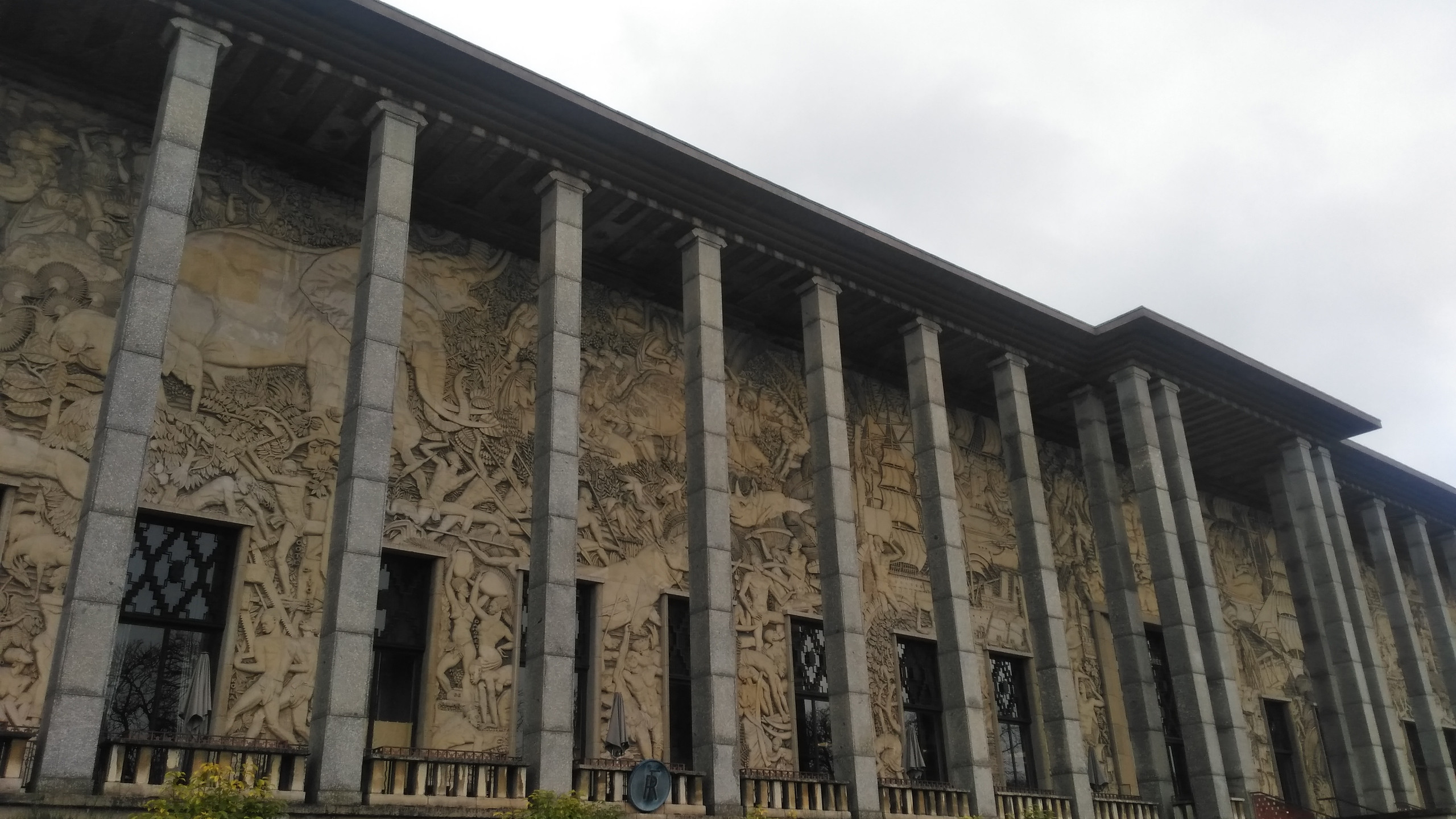 Le Palais de la Porte Dorée - Façade