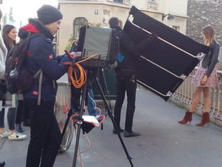 Shooting with Mint Velvet (U.K.)