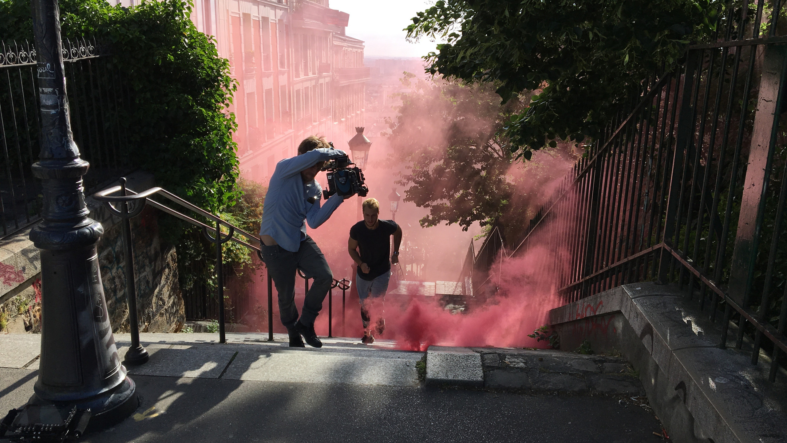 Running Man Montmartre