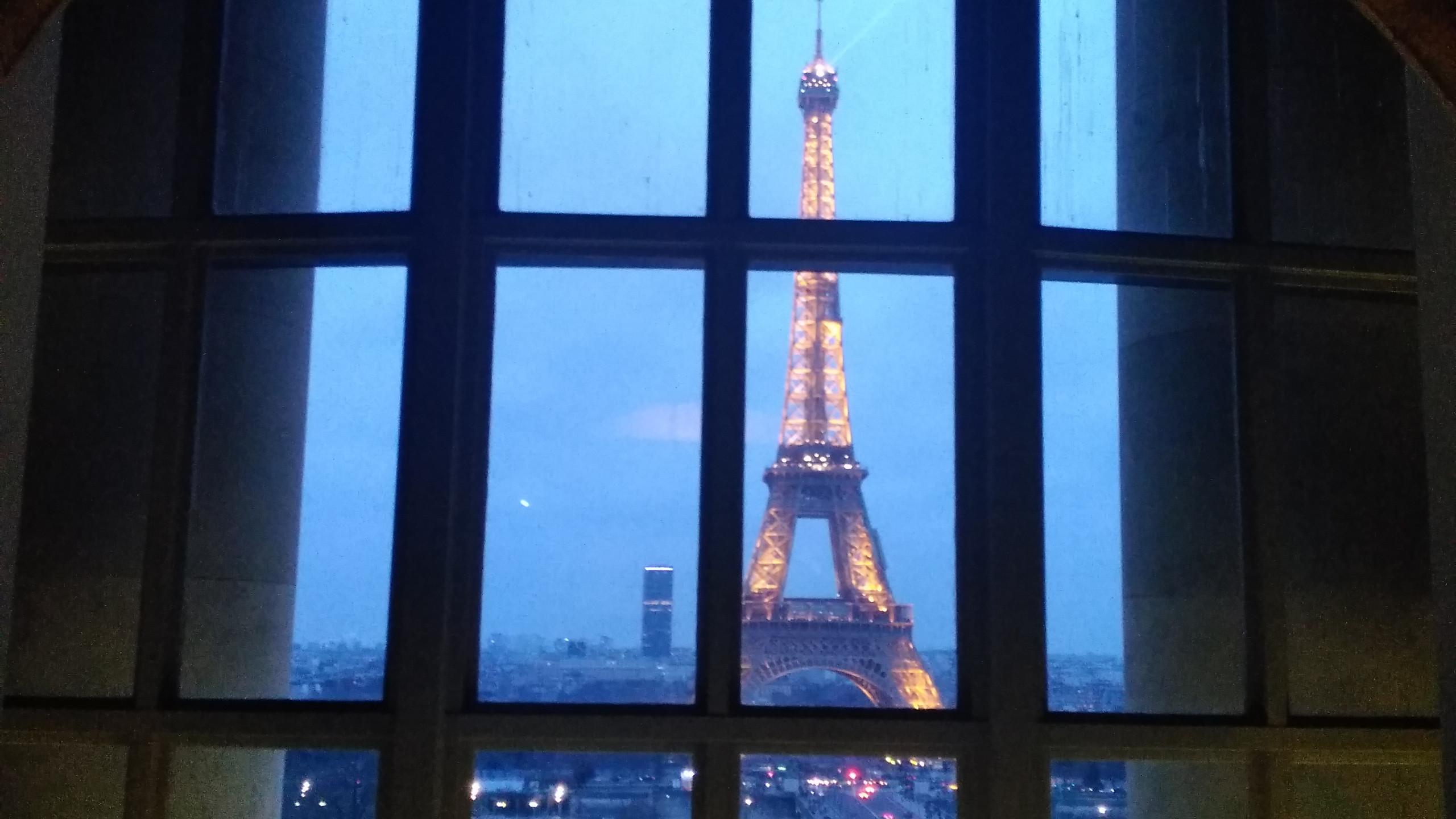 Interior View - Eiffel Tower