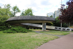 Concrete Footbridge