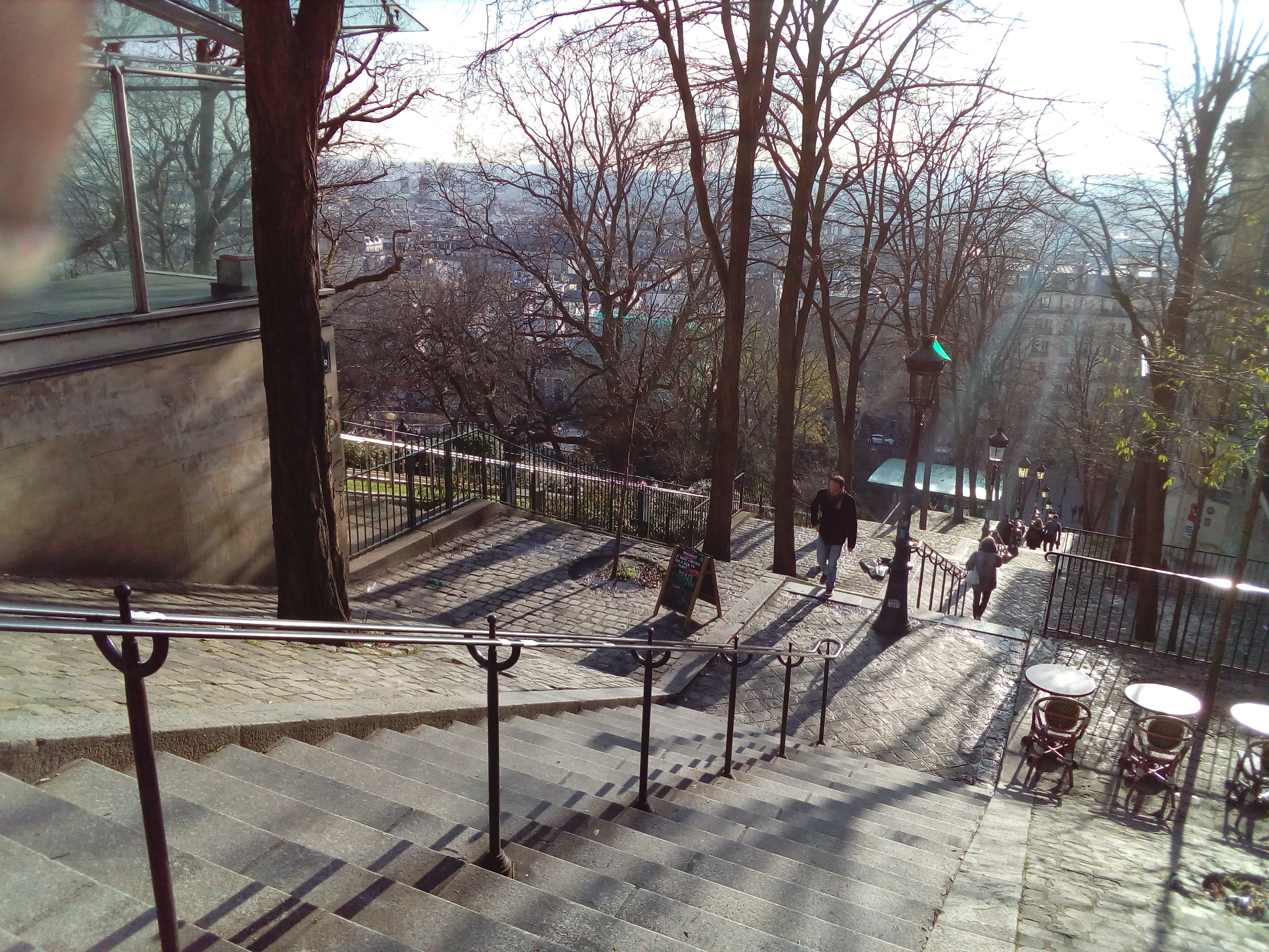 Iconic Stairs Montmartre