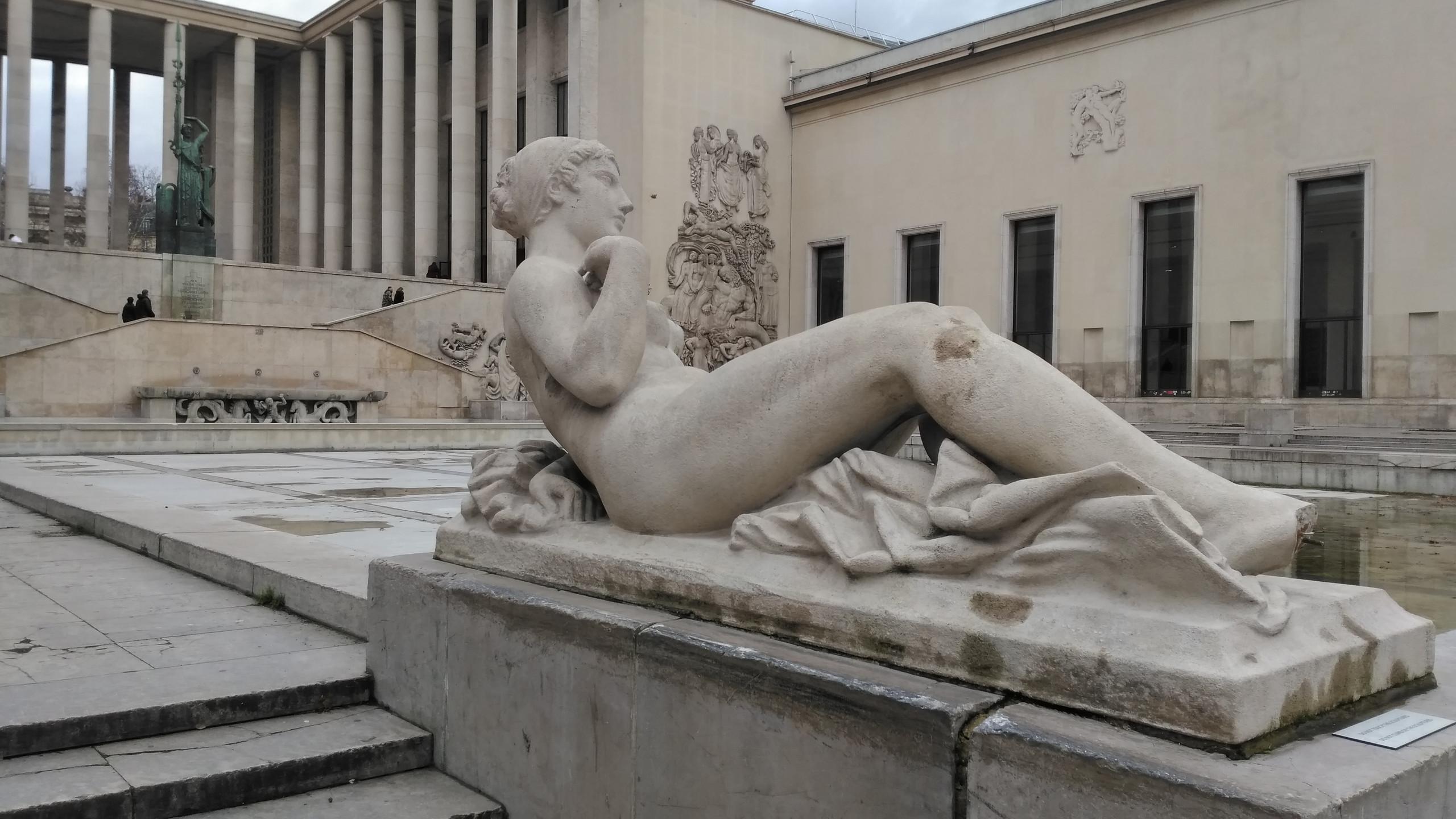 Nymph Sculpture
