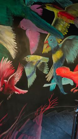 Birds in Flight Staircase
