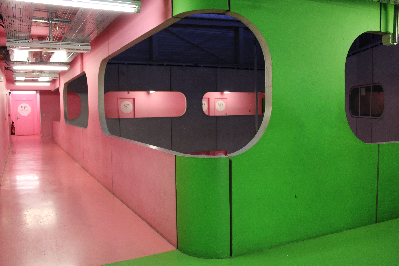 Pink & Green Corner