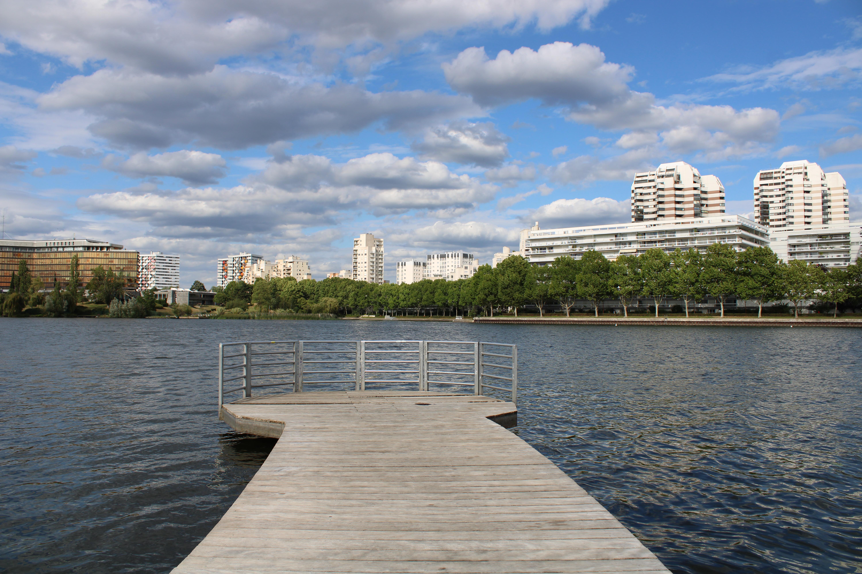 Lake & Cityscape
