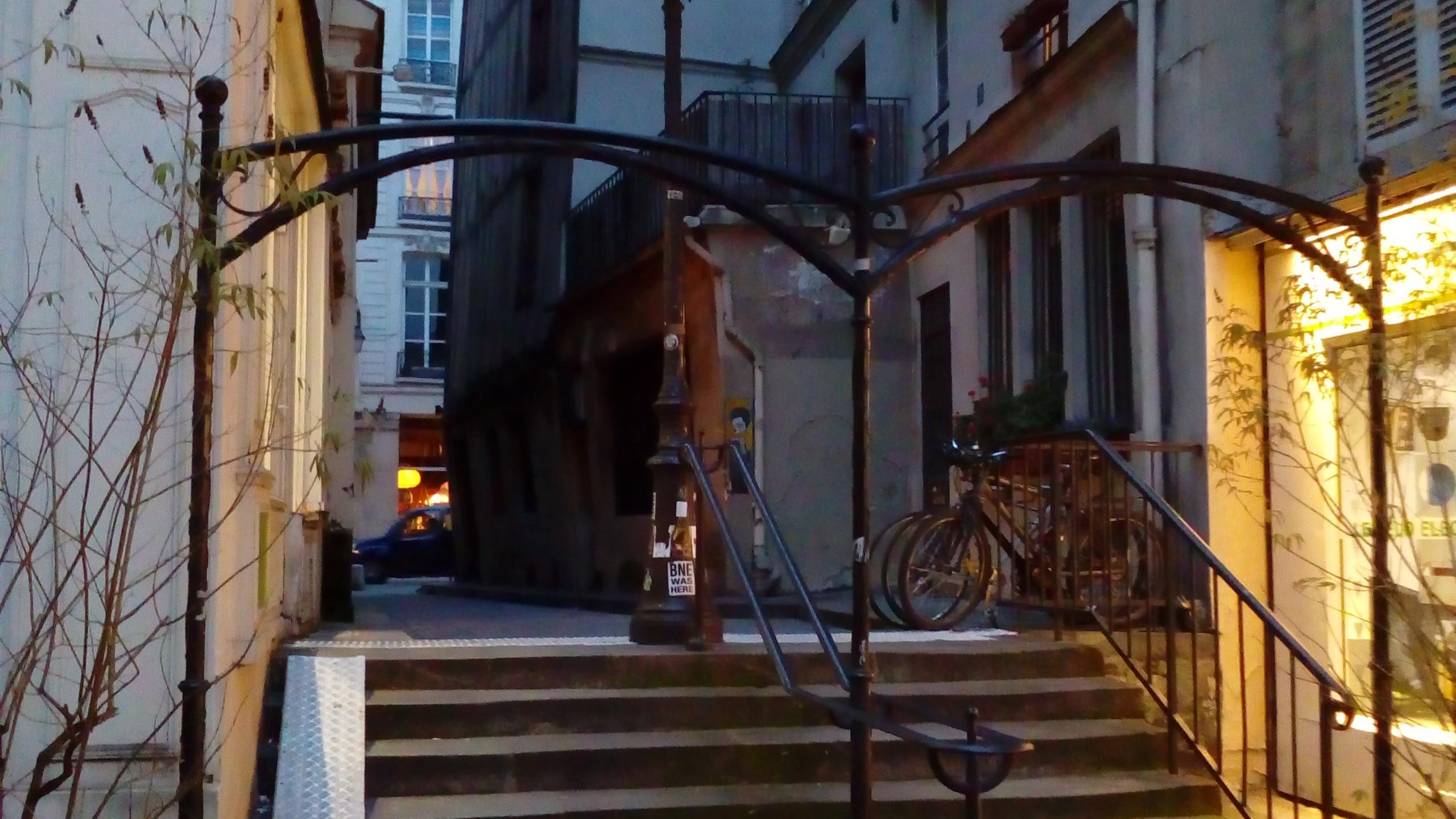 Stairs Paris 04