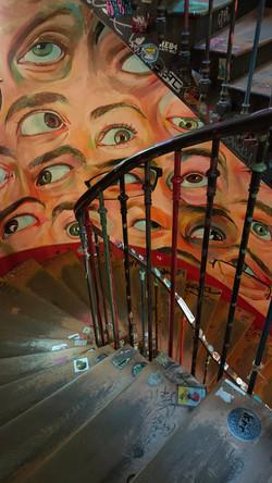 Eyes Staircase