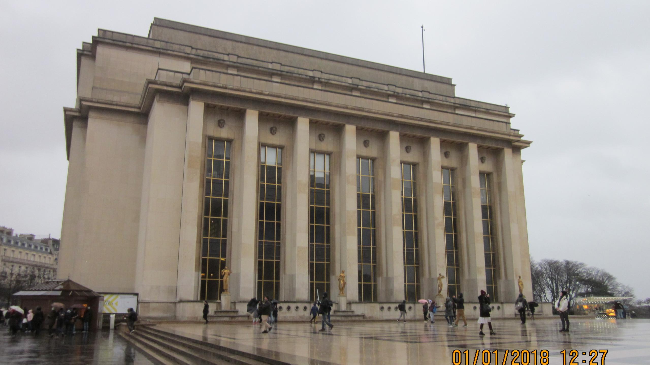 Le Palais de Chaillot - 1937