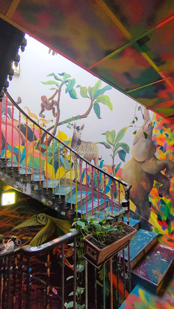 Jungle Staircase