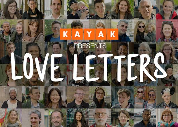 KAYAK LOVE LETTERS