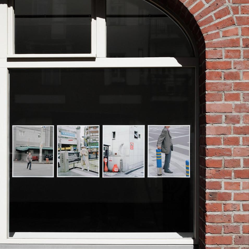 Florian Bongkil Größe 'Ajeossi' BOYs Do Cry #1 AFF Galerie Berlin