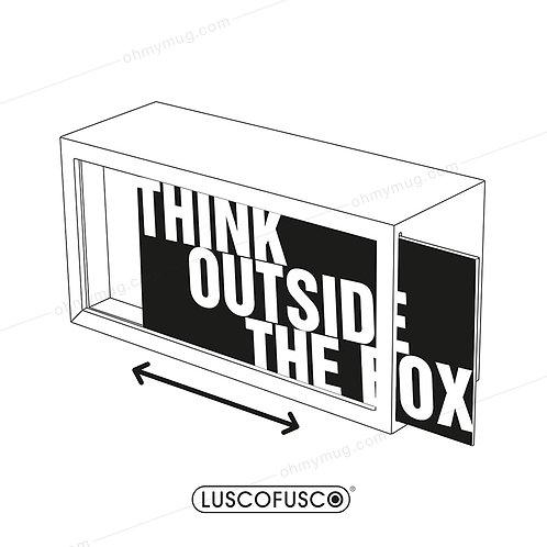 LIGHTBOX LUSCOFUSCO PANTALLA THINK OUTSIDE