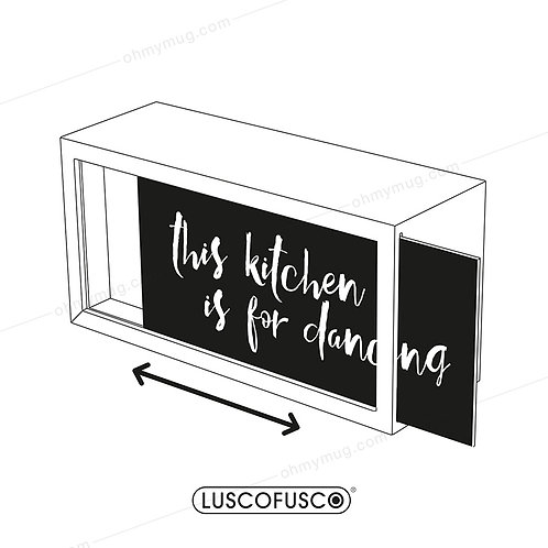 LIGHTBOX LUSCOFUSCO PANTALLA THIS KITCHEN