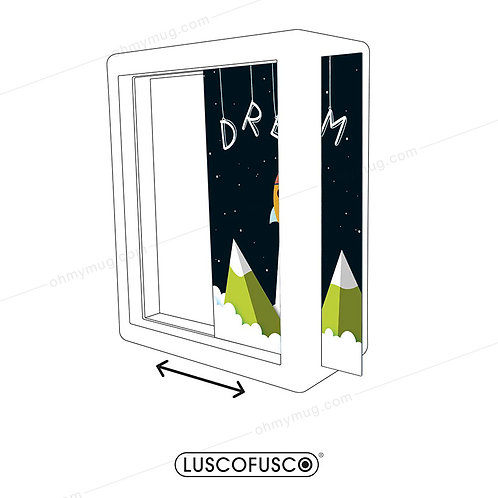 LIGHTBOX LUSCOFUSCO PANTALLA DREAM COHETE